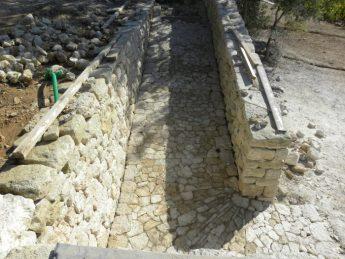 Rampe caladée à Lambesc