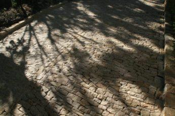 chemin en pierres