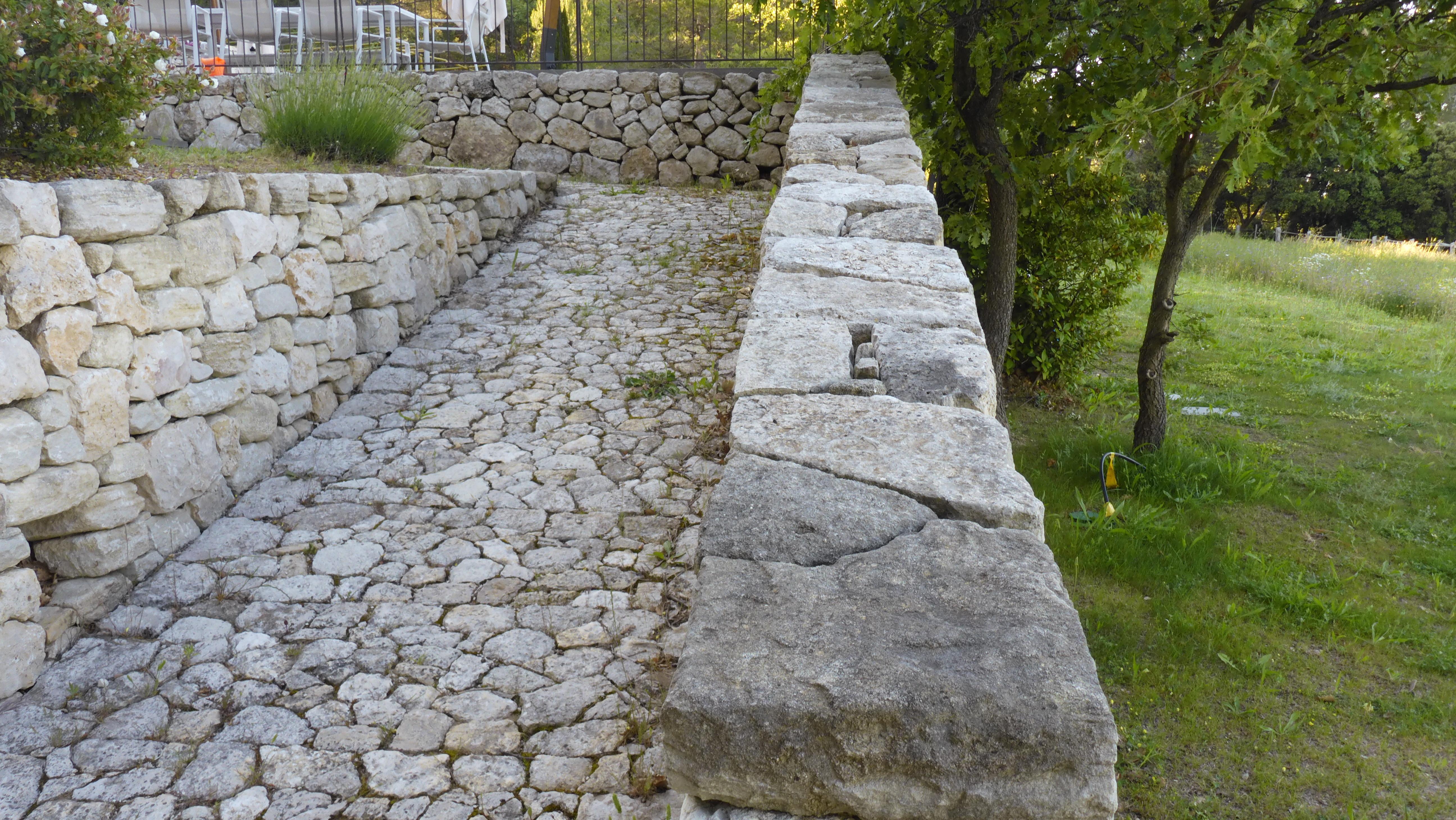 mur et calade